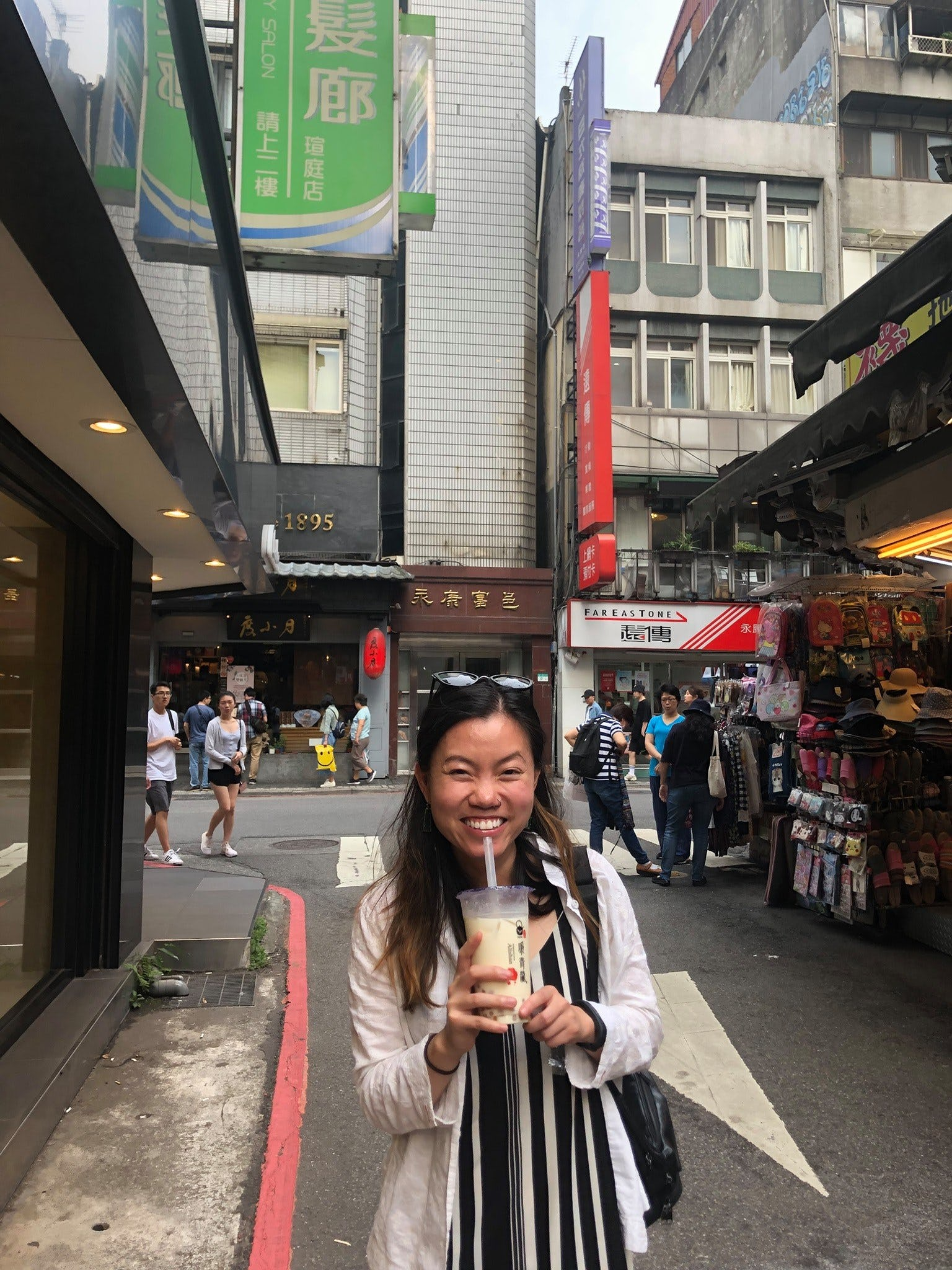 I tried to drink boba for all three meals when I visited Taipei