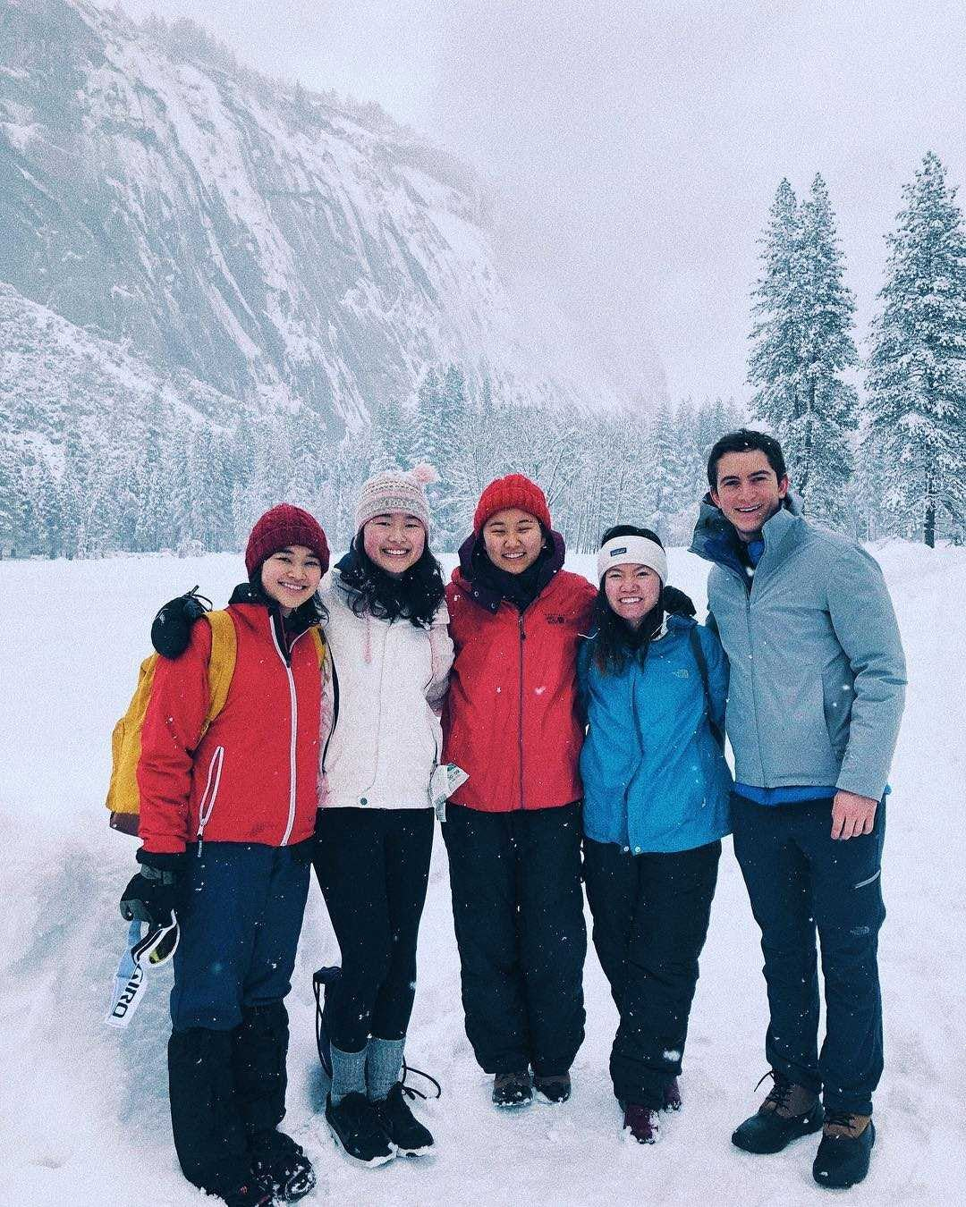 Yosemite with some pals