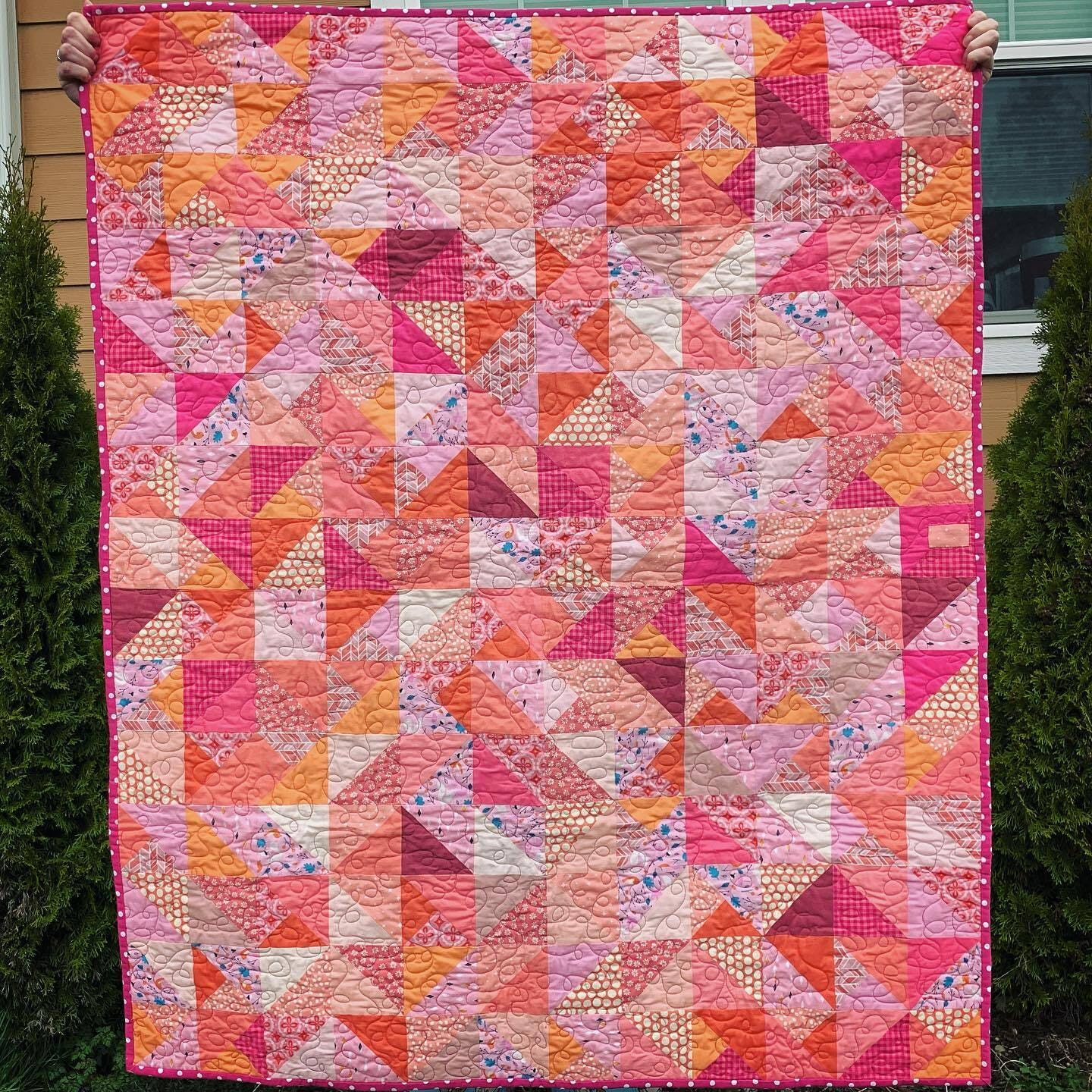 Baby quilt for friends
