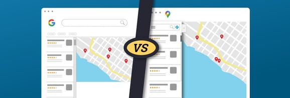 The Local Finder vs. Google Maps: How Different Are They?