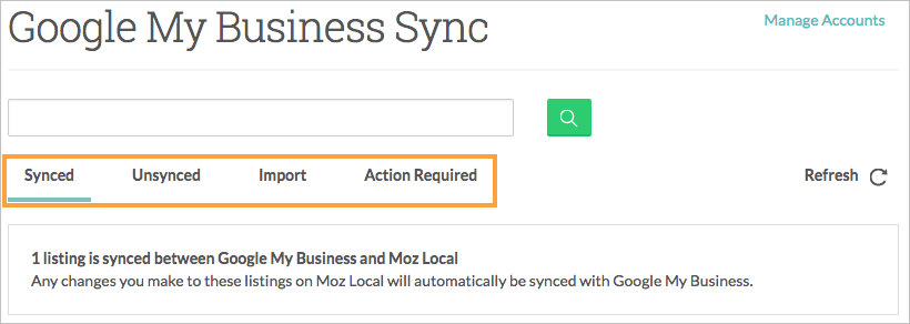 Connect Google My Business Account To Moz Local - Help Hub - Moz