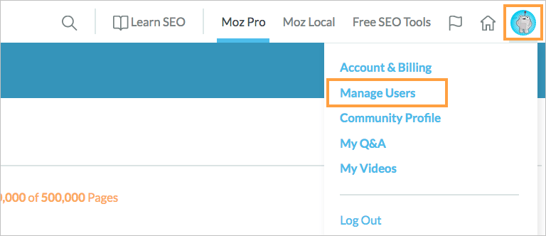 Share Your Moz Pro Subscription - Help Hub - Moz