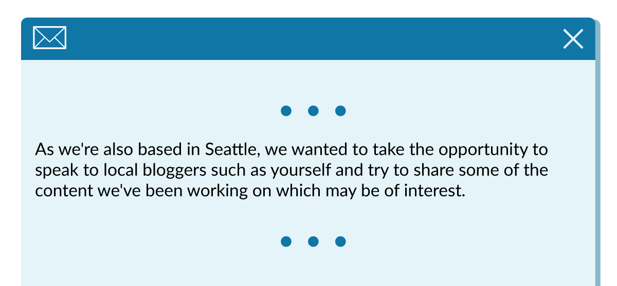 As we're also based in Seattle, we wanted to take the opportunity to speak to local bloggers such as yourself and try to share some of the content we've been working on which may be of interest.