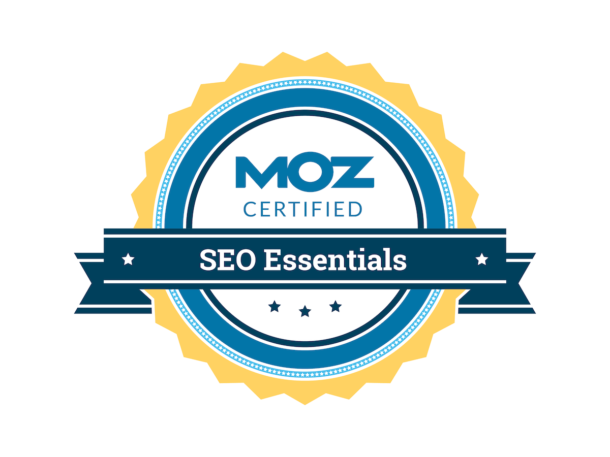 <p>SEO Essentials Certification</p>