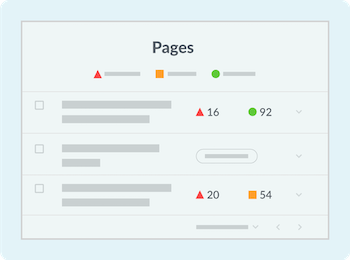 <p>Prioritize pages that matter the most</p>
